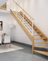 Escalier Bois Acier 1 4 Tournant Sur Mesure Escaliers Escaliers