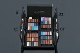 mac 15 color shimmer eyeshadow palette makeup brush set mac mac makeup latest fashion trends