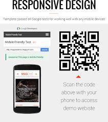 Blogger Mobile Template Magone Responsive News Magazine Blogger Template