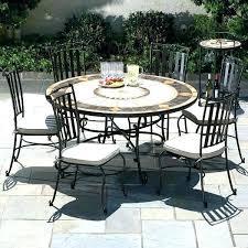 circle patio table circle outdoor