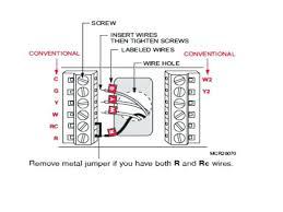 honeywell thermostat wiring eromania Thermostat Wiring Color Code at 6 Wire Thermostat Wiring Diagram