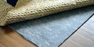 rug pad hardwood floor felt pads for floors best pa