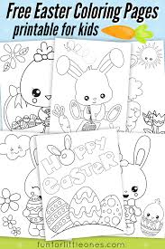 Easter Coloring Pages For Kids Free Printable Fun For Little Ones