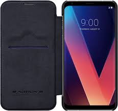 <b>Чехол</b>-<b>книжка Nillkin Qin Leather</b> для LG V30+ black - отзывы ...