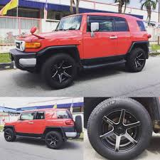 Toyota FJ Cruiser with New 18 inch LENSO... - King of Rims ...
