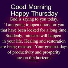 328331 Religious Good Morning Thursday Quote At Quote For Thursday