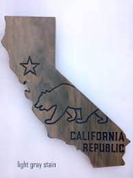 california bear wall decor ca state