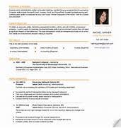 Sample resume template for Free sample resumes .