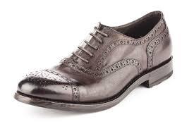 vintage kangaroo leather shoes brown