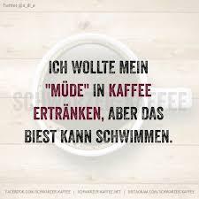 Spruch Schwarzer Kaffee