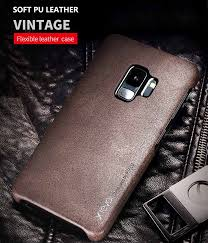 x level samsung galaxy s9 ultra thin vintage soft pu leather case