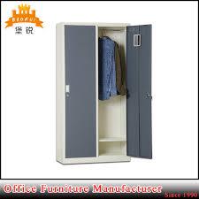 china modern 2 door bedroom school gym locker metal clothes cabinet china cabinet locker