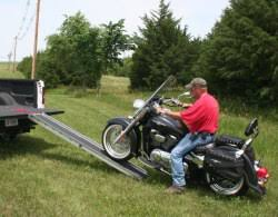 Motorcycle Loading Ramps and Hitch Carriers - HandiRamp