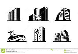 Vector Clipart Building Pencil And In Color Vector Clipart Building