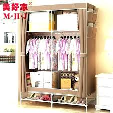mainstays closet storage wardrobe organizer hanger clothes rack with drawers drying clo