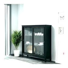 media cabinet with doors glass door sliding full image for rollers ikea
