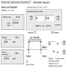 Wood I Beam Load Chart Lumber Beam Span Calculator New Images Beam
