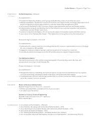 Resume How To Format A Two Page Resume Resume Sample Two Page How To ...