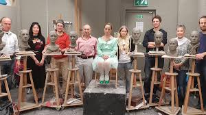 """London Atelier on Twitter: """"Excellent work all round on Jethro Crabb's  Portrait Sculpture Workshop. If you'd like to benefit from 'a certain  intensity of focus in a relaxed and supportive way' check"""