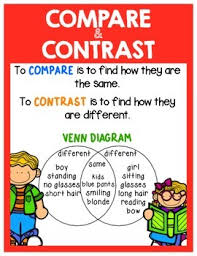 Compare Contrast Anchor Chart
