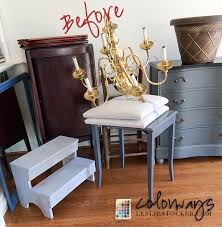 projects before see how i transform an ordinary inexpensive brass chandelier with chalk paint