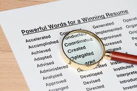 Top 40 Most Powerful Resume Words Work It Daily Awesome Words For Resume
