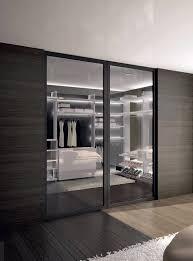 walk in closet door pivoting aluminum glazed evo