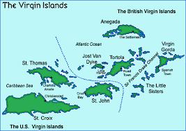 Bvi Navigation Charts British Virgin Islands Cruising Sailing Vancouver