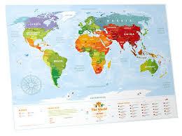 Географическая <b>карта 1DEA.me Travel</b> Map Kids Sights