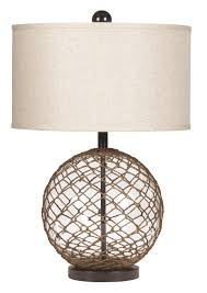 Ashley Furniture L Regina Glass Table Lamp A