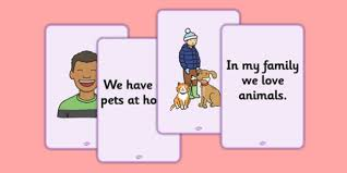 Card For Loss Of Pet Social Situation Cards Loss Of A Pet Primary Social Story Cards Loss