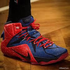 lebron shoes spider man. demarre carroll wearing nike lebron xii 12 hawks id (1) lebron shoes spider man w