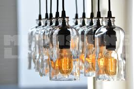 the apothecary glass bottle chandelier