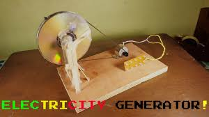 simple electric generator. Introduction: How To Make : Simple Electric Generator R