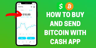 how to and send bitcoin with cash app
