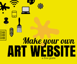 Difference Between Art And Graphic Design How To Make An Artist Website And Why You Need One