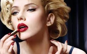 valentine s day makeup red lips