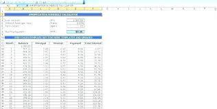 Loan Schedule Excel Template Loan Payment Template Mortgage Loan Schedule Template Excel Format