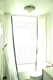 shower curtain rod installation full size of where to hang curtain rods hunter blinds install shower