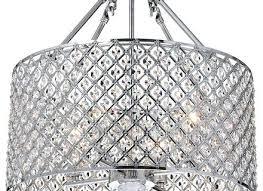 full size of antonia 4 light crystal semi flush mount chandelier black and chrome nerisa lighting