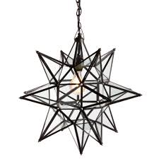 starlight copper chandelier