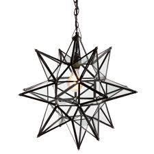 starlight copper chandelier