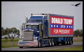 Image result for trump truck convoy