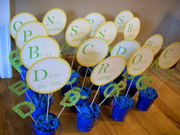 baby shower centerpieces for boys diy