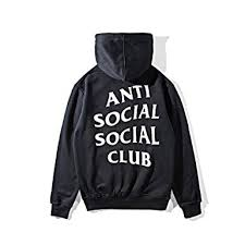 Anti Social Social Club Hoodie Size Chart Amazon Com Anti Social Social Club Mens Long Sleeve