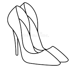 You can also download or link directly to our shoes coloring books and coloring sheets for free ‐ just click on the pictures to view all the details. Glamor Woman New Stylish Shoes Illustration Coloring Page Stock Illustration Illustration Of Shoes Elegant 144751021