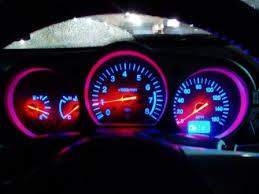 2004 nissan 350z interior. nissan 350z tach blue led lighting 2004 350z interior