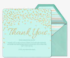 Premium Online Thank Cards Thank You Notes Evite