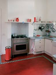 Red Floor Tiles Kitchen 15 Vintage Kitchen Flooring Ideas 6058 Baytownkitchen