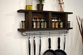 10 wall mounted pot and pan storage